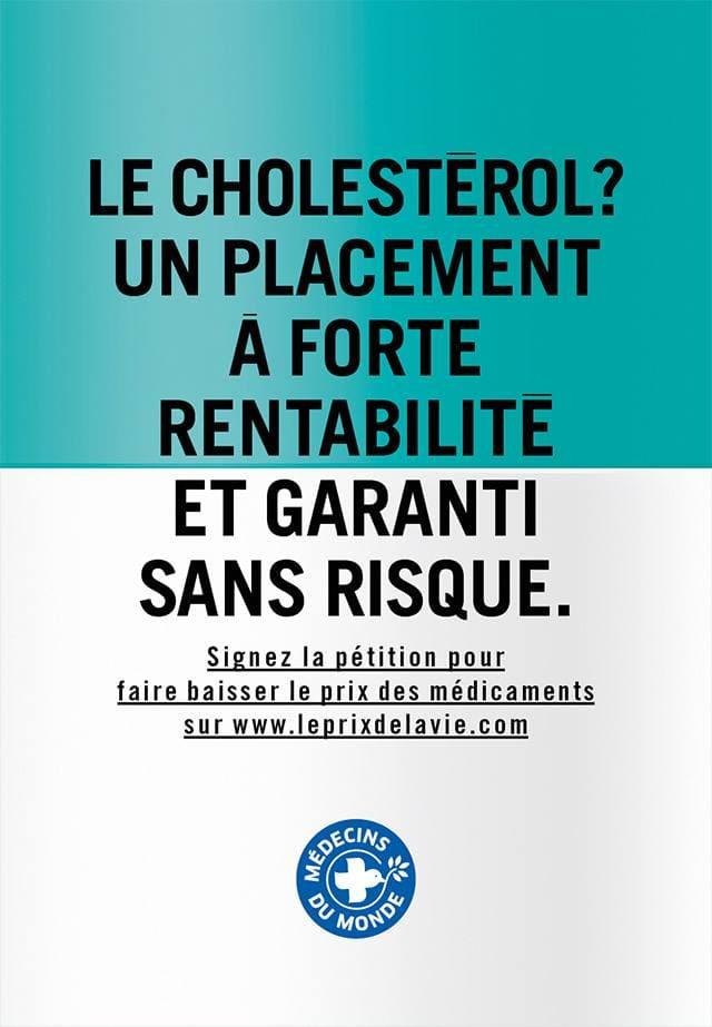 Affiche 6 de la campagne Le prix de la vie de Médecins du Monde