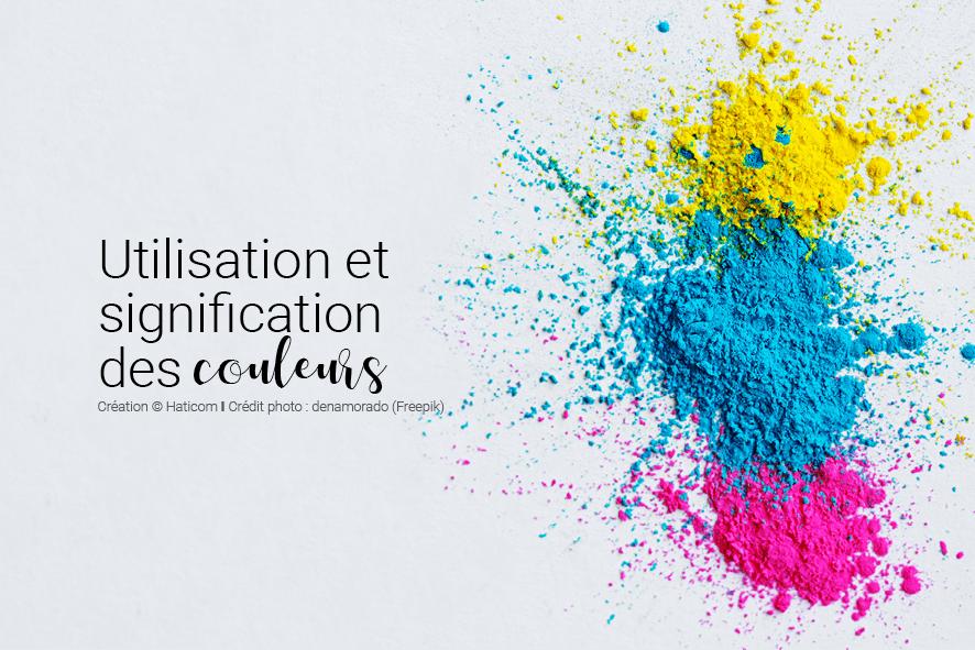 Visuel pour illustrer l'article 15 : Utilisation et signification des couleurs