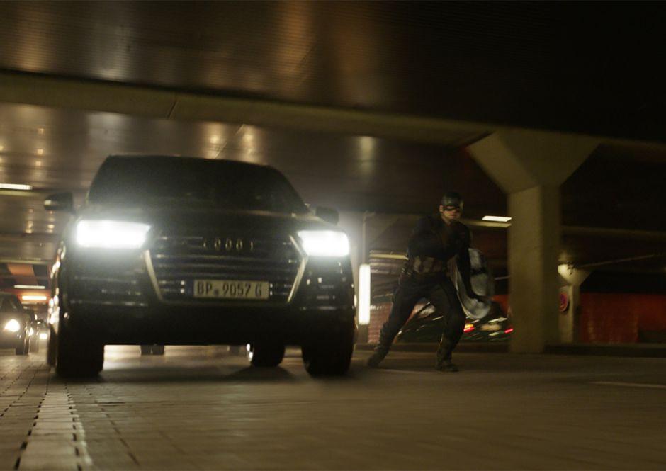 Visuel pour illustrer l'article 4 : Audi SQ7 dans Captain America - Civil War