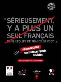 Affiche 2 de la campagne Coup de sifflet du Gouvernement Français