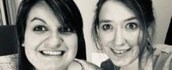 Julie et Amélie - L'Hati'team- Ghef de projet et graphiste de l'agence de communication Haticom