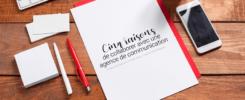 Visuel pour illustrer l'article 12 : Cinq raisons de collaborer avec une agence de communication