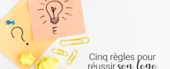 Visuel pour illustrer l'article 19 : Cinq règles pour réussir son logo